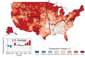map usa in 1800 our changing climate national climate assessment