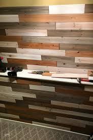 how to make a diy reclaimed wood wall sabrina s organizing