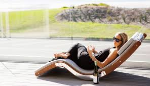 rock out outside with the kwila sun lounger design milk