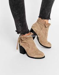 womens boots uk asos asos suede ankle boots taupe womens asos ankle boots