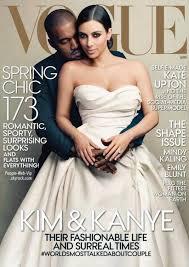 pose photo mariage cover 2 mois avant leur mariage et kanye west