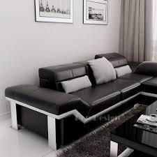canapé d angle en cuir design canape d angle de qualite maison design wiblia com