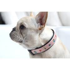 dog ribbon woven ribbon dog collar pink xl 6526151 hsn