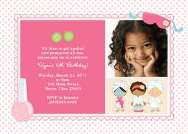 5 birthday invitation wording cimvitation
