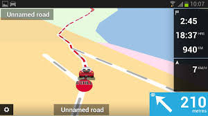 tomtom android how to calculate a route with waypoints destinations