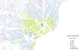 Map Of Atlanta Traffic by Metro Detroit U0027s Segregation On Display In U0027racial Dot Map U0027 Cbs