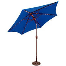 Patio Umbrella Target Crank Patio Umbrella Blue 7 5 Target