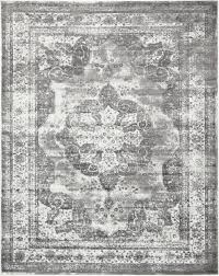 Modern Gray Rug Interior 7 Ft X 10 Ft Distressed Gray And White Area Rug For