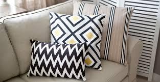 coussins originaux canapé coussin décoratif un réel atout dans votre décoration