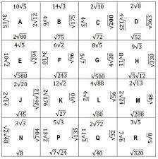 simplifying radicals worksheet fts e info