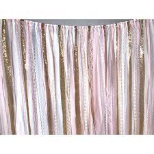 pink garland pink gold fabric garland backdrop backdrop express