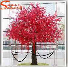 Indian Wedding Decorations Wholesale Silk Fabric Indoor Cheap Wedding Decorations Cherry Blossoms