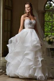 organza wedding dress 2015 backless organza wedding gowns skirt with