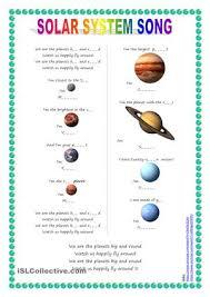 solar system worksheet worksheets