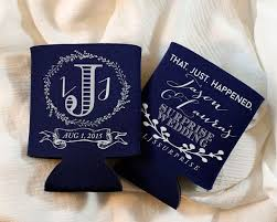 party favors wedding 400 best koozies wedding party favors images on