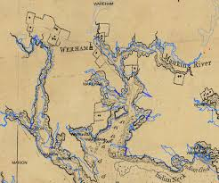 New England Coast Map by Fish Passage To Be Improved On Weweantic River Ma New England