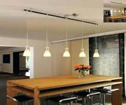 Pendant Track Lighting Kit Archive With Tag Glass Dining Table Chairs Bmorebiostat