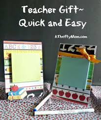 gift using a 4x6 plastic picture frame craft ideas
