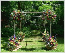 chuppah poles fall special white birch wedding chuppah with stands birch