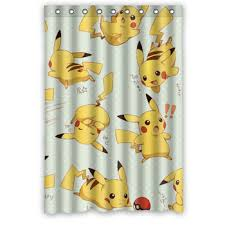 Tweety Bird Shower Curtain Buy Cute Anime Pikachu Pokemon Shower Curtain 48 X72 In Cheap