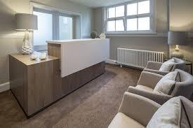 Bespoke Reception Desk Dalton Office Interior Design Lake District Cumbria