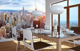 amazon com new york penthouse skyline photo wallpaper manhattan amazon com new york penthouse skyline photo wallpaper manhattan panorama view mural xxl poster new york wall decoration 55 inch x 39 4 inch home