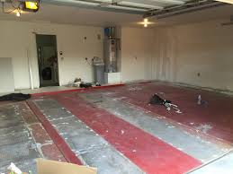 red floor paint it u0027s a shabby thing first things first garage