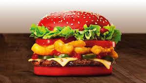 bk halloween whopper angriest whopper sports a red bun houston chronicle