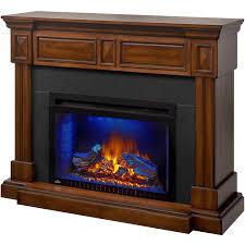 napoleon braxton 50 inch electric fireplace burnished walnut