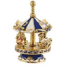 metal dreidel carousel gold dreidel by quest