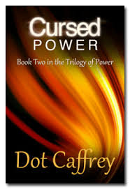 cursed power book two in the trilogy of power dot caffrey