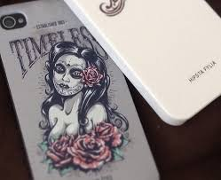 create a tattoo style grunge day of dead poster in illustrator