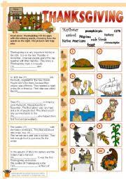 teaching worksheets thanksgiving day fall teaching ideas