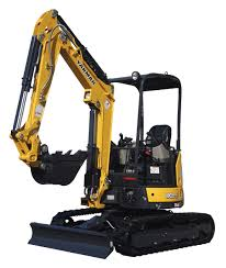 yanmar 9 u0027 digging depth excavator vio25 6a prus q buckeye