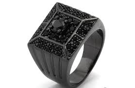 black wedding bands for the black wedding rings for men with big fingers