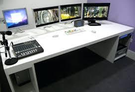 Gaming Pc Desks Splendid Custom Made Computer Desks 9 Desk And Exterior