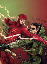 the flash fan art the flash vs arrow art by david m buisán cosplay life pinterest
