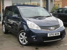 nissan hatchback used nissan note hatchback 1 6 16v n tec 5dr in loughborough