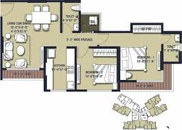 solitaire floor plans 2nd floor 3 bhk 960 sq ft apartment