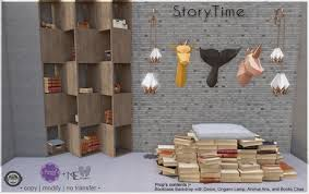 Bookcase Backdrop Second Life Marketplace Story Time Bookcase Backdrop Single