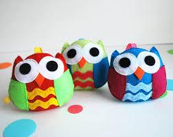 owl sewing pattern felt toy pdf sewing pattern kids craft