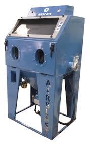 Used Blast Cabinet Direct Pressure Blast Cabinets Airblast Eurospray