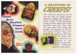 classic movie monster stamps 1997 taint the meat