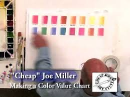 how to make your own color value chart cheapjoes com youtube