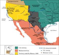map of mexico 1821 timeline