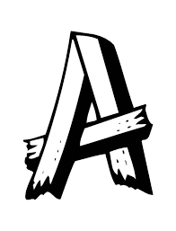 the letter a coloring page printable letter a coloring pages coloringstar
