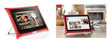 tablette de cuisine qooq tentation high tech tablette qooq pour la cuisine blooming
