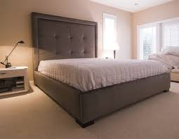 bedroom high headboard platform beds queen size headboard modern