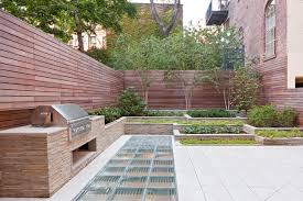 Townhouse Backyard Design Ideas Greenwich Townhouse Contemporary Landscape New York