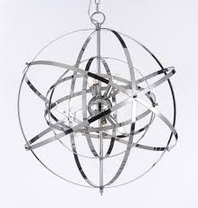 Iron Orb Chandelier Ultimate Wrought Iron Orb Chandelier Also Diy Home Interior Ideas